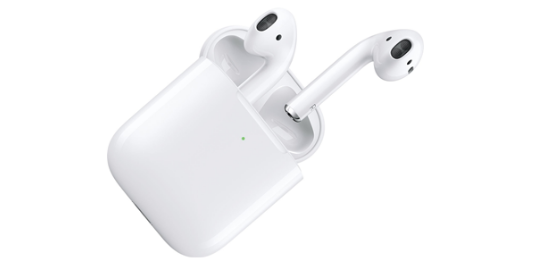 Apple AirPods (2nd Generation) with Wireless Charging Case